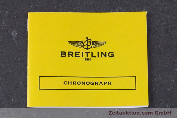 Used luxury watch Breitling Chronomat chronograph steel / gold automatic Kal. B13 ETA 7750 Ref. D13050.1  | 160767 12