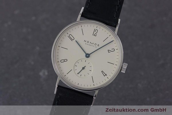 NOMOS TANGENTE STEEL MANUAL WINDING KAL. ETA 7001 LP: 1380EUR [160769]
