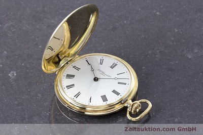 CHOPARD POCKET WATCH 14 CT YELLOW GOLD MANUAL WINDING LP: 11850EUR VINTAGE [160772]