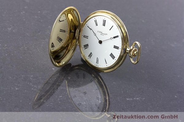Used luxury watch Chopard Pocket Watch 14 ct yellow gold manual winding VINTAGE  | 160772 03