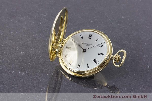 Used luxury watch Chopard Pocket Watch 14 ct yellow gold manual winding VINTAGE  | 160772 04