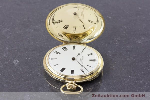 Used luxury watch Chopard Pocket Watch 14 ct yellow gold manual winding VINTAGE  | 160772 05