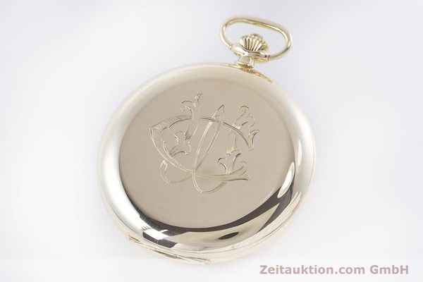 Used luxury watch Chopard Pocket Watch 14 ct yellow gold manual winding VINTAGE  | 160772 11