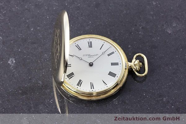 Used luxury watch Chopard Pocket Watch 14 ct yellow gold manual winding VINTAGE  | 160772 15