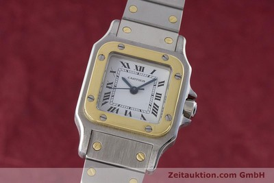 CARTIER SANTOS ACIER / OR AUTOMATIQUE KAL. ETA 2670 LP: 5600EUR [160773]