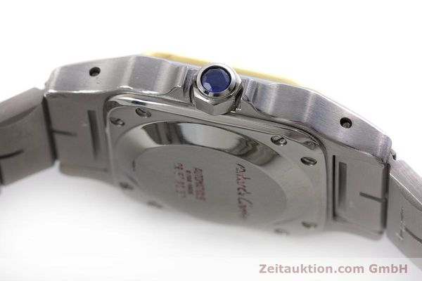 Used luxury watch Cartier Santos steel / gold automatic Kal. ETA 2670  | 160773 08