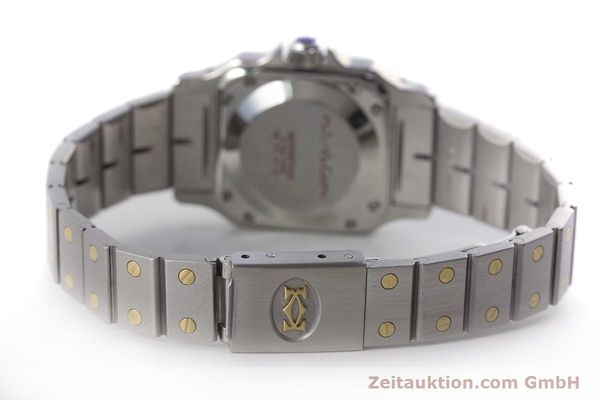 Used luxury watch Cartier Santos steel / gold automatic Kal. ETA 2670  | 160773 10