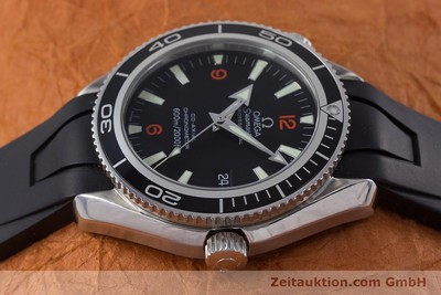 OMEGA SEAMASTER PLANET OCEAN CO AXIAL STAHL HERRENUHR REVISION 2016 VP: 4900,- Euro [160777]