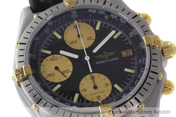 Used luxury watch Breitling Chronomat chronograph steel / gold automatic Kal. Val. 7750 Ref. 81950  | 160781 02