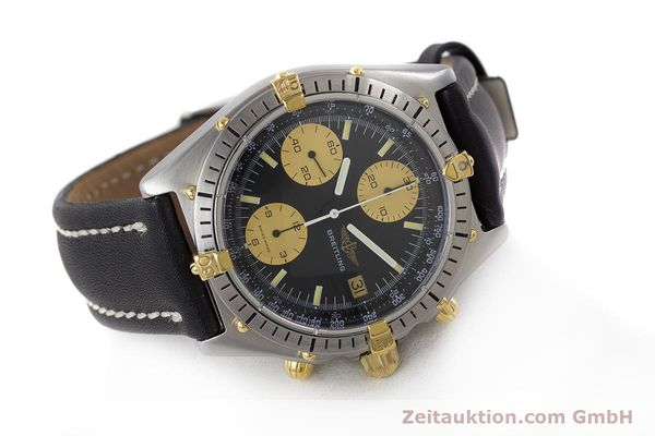Used luxury watch Breitling Chronomat chronograph steel / gold automatic Kal. Val. 7750 Ref. 81950  | 160781 03