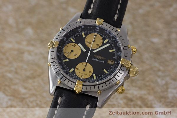 Used luxury watch Breitling Chronomat chronograph steel / gold automatic Kal. Val. 7750 Ref. 81950  | 160781 04