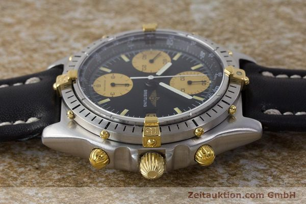 Used luxury watch Breitling Chronomat chronograph steel / gold automatic Kal. Val. 7750 Ref. 81950  | 160781 05