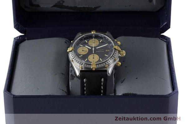 Used luxury watch Breitling Chronomat chronograph steel / gold automatic Kal. Val. 7750 Ref. 81950  | 160781 07