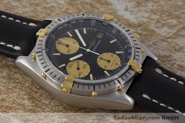 Used luxury watch Breitling Chronomat chronograph steel / gold automatic Kal. Val. 7750 Ref. 81950  | 160781 15