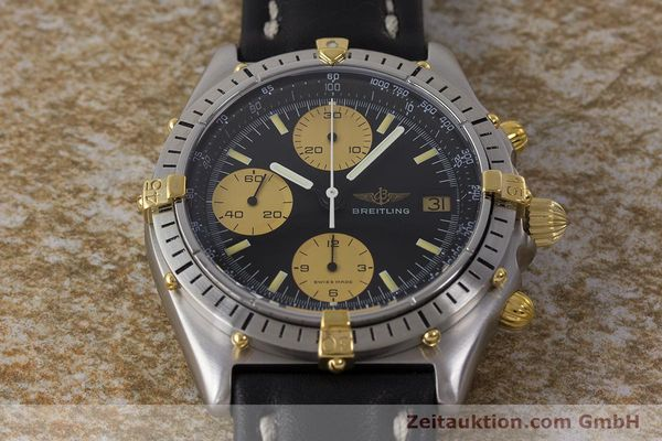 Used luxury watch Breitling Chronomat chronograph steel / gold automatic Kal. Val. 7750 Ref. 81950  | 160781 16