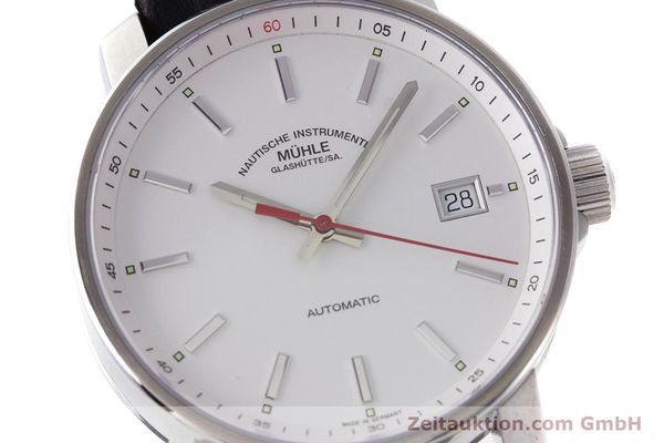 Used luxury watch Mühle 29er steel automatic Kal. ETA 2824-2 Ref. M1-25-20  | 160784 02