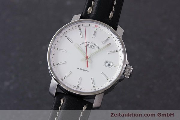 Used luxury watch Mühle 29er steel automatic Kal. ETA 2824-2 Ref. M1-25-20  | 160784 04