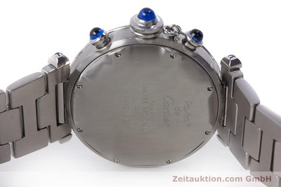 CARTIER PASHA CHRONOGRAPH STEEL QUARTZ KAL. 053 [160787]