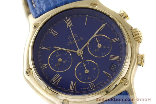 Used luxury watch Ebel 1911 chronograph 18 ct gold automatic Kal. 134 / 400 Ref. 8134901  | 160788 02