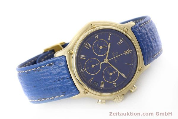 Used luxury watch Ebel 1911 chronograph 18 ct gold automatic Kal. 134 / 400 Ref. 8134901  | 160788 03