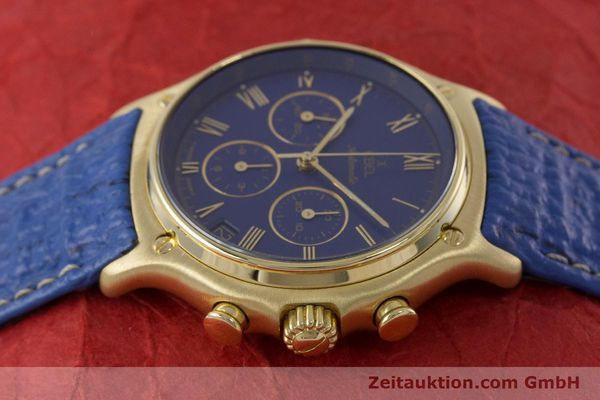 Used luxury watch Ebel 1911 chronograph 18 ct gold automatic Kal. 134 / 400 Ref. 8134901  | 160788 05