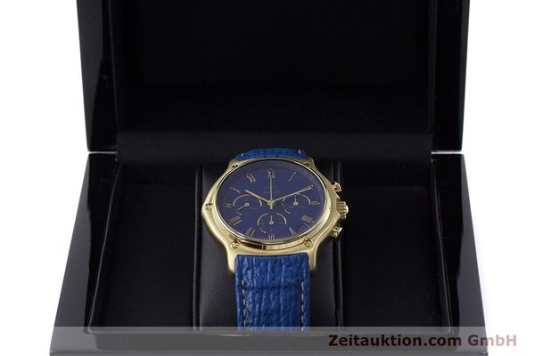 Used luxury watch Ebel 1911 chronograph 18 ct gold automatic Kal. 134 / 400 Ref. 8134901  | 160788 07