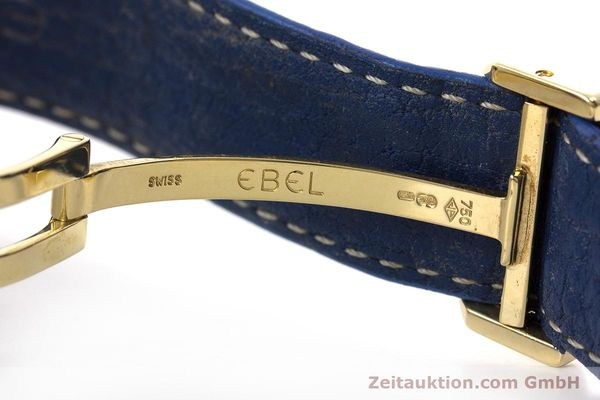 Used luxury watch Ebel 1911 chronograph 18 ct gold automatic Kal. 134 / 400 Ref. 8134901  | 160788 13