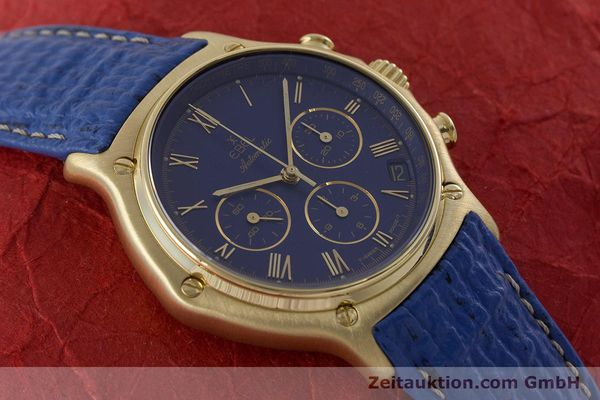 Used luxury watch Ebel 1911 chronograph 18 ct gold automatic Kal. 134 / 400 Ref. 8134901  | 160788 15