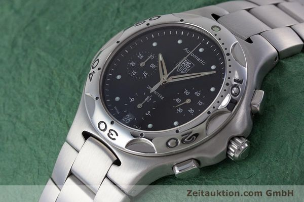 Used luxury watch Tag Heuer Kirium chronograph steel automatic Kal. ETA 2894-2 Ref. CL2110  | 160790 01