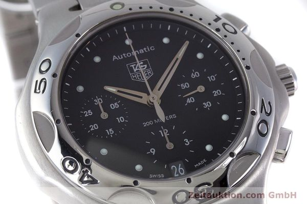 Used luxury watch Tag Heuer Kirium chronograph steel automatic Kal. ETA 2894-2 Ref. CL2110  | 160790 02