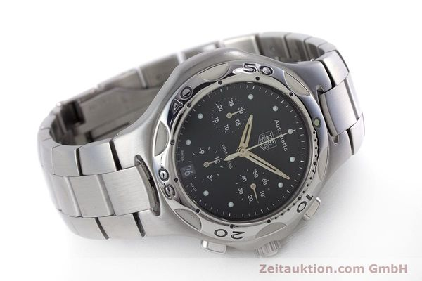 Used luxury watch Tag Heuer Kirium chronograph steel automatic Kal. ETA 2894-2 Ref. CL2110  | 160790 03