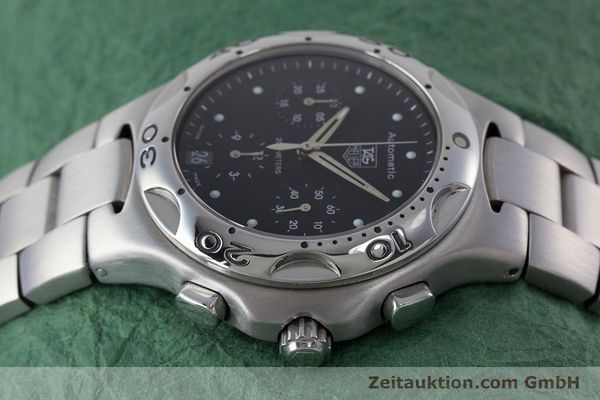 Used luxury watch Tag Heuer Kirium chronograph steel automatic Kal. ETA 2894-2 Ref. CL2110  | 160790 05