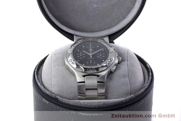 Used luxury watch Tag Heuer Kirium chronograph steel automatic Kal. ETA 2894-2 Ref. CL2110  | 160790 07