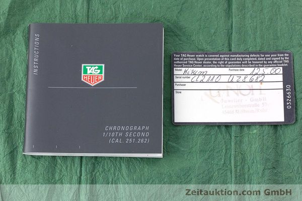 Used luxury watch Tag Heuer Kirium chronograph steel automatic Kal. ETA 2894-2 Ref. CL2110  | 160790 08