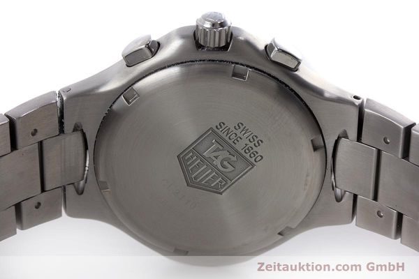 Used luxury watch Tag Heuer Kirium chronograph steel automatic Kal. ETA 2894-2 Ref. CL2110  | 160790 09