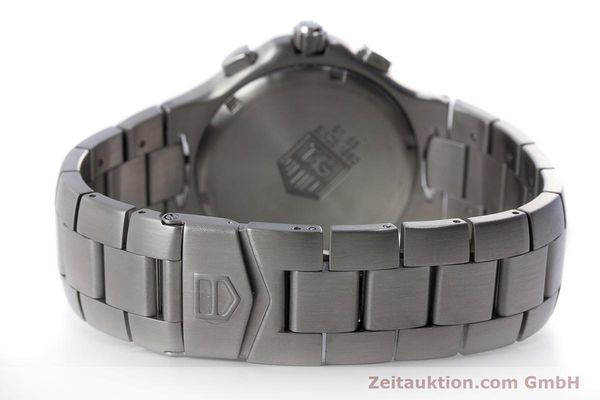 Used luxury watch Tag Heuer Kirium chronograph steel automatic Kal. ETA 2894-2 Ref. CL2110  | 160790 12