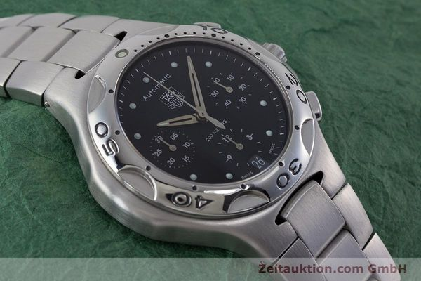 Used luxury watch Tag Heuer Kirium chronograph steel automatic Kal. ETA 2894-2 Ref. CL2110  | 160790 15