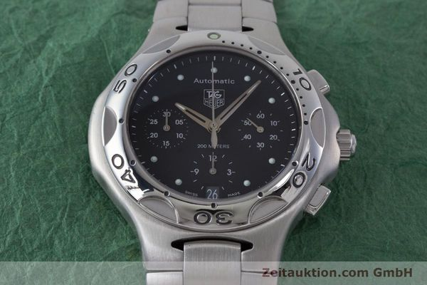 Used luxury watch Tag Heuer Kirium chronograph steel automatic Kal. ETA 2894-2 Ref. CL2110  | 160790 16