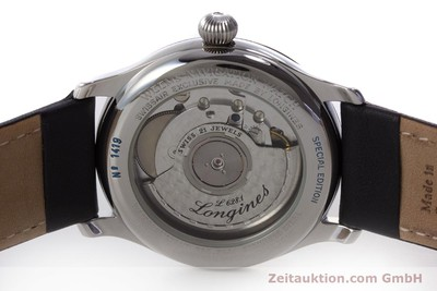 LONGINES WEEMS NAVIGATION WATCH STEEL AUTOMATIC KAL. L628.1 ETA 2892-2 [160792]