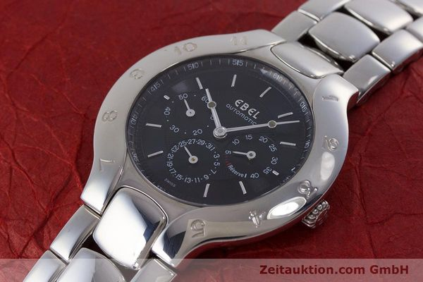 Used luxury watch Ebel Lichine steel automatic Kal. 964 Ref. 9964980  | 160797 01