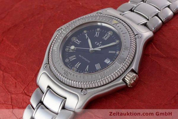 Used luxury watch Ebel Discovery steel automatic Kal. 93 Ref. 993913  | 160798 01