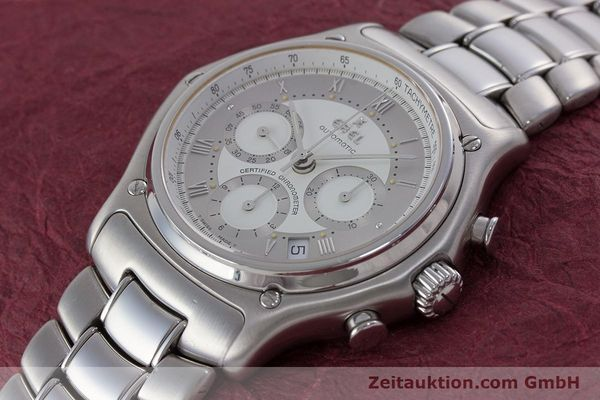 Used luxury watch Ebel Le Modulor chronograph steel automatic Kal. 137 Ref. 9137241  | 160799 01