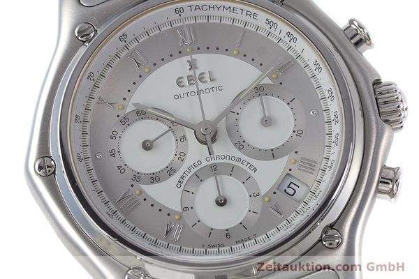 Used luxury watch Ebel Le Modulor chronograph steel automatic Kal. 137 Ref. 9137241  | 160799 02