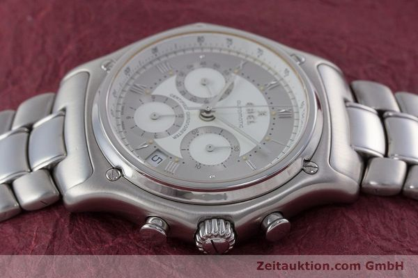 Used luxury watch Ebel Le Modulor chronograph steel automatic Kal. 137 Ref. 9137241  | 160799 05