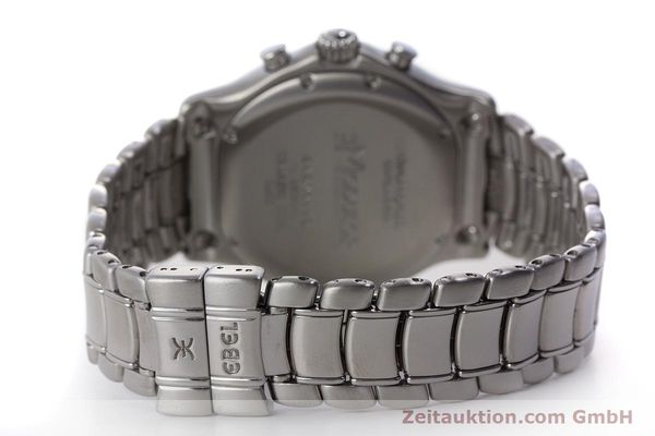 Used luxury watch Ebel Le Modulor chronograph steel automatic Kal. 137 Ref. 9137241  | 160799 12