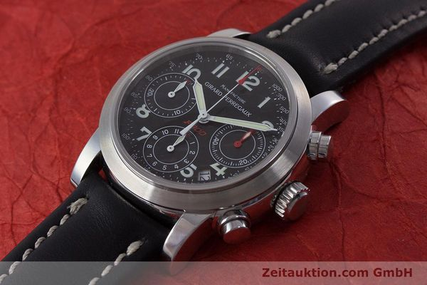 Used luxury watch Girard Perregaux Ferrari chronograph steel automatic Kal. 2280-831 Ref. 8020  | 160800 01