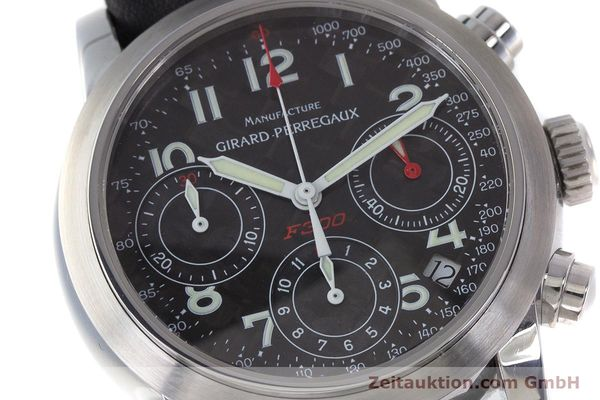 Used luxury watch Girard Perregaux Ferrari chronograph steel automatic Kal. 2280-831 Ref. 8020  | 160800 02
