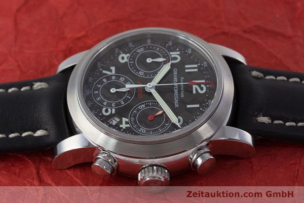 Used luxury watch Girard Perregaux Ferrari chronograph steel automatic Kal. 2280-831 Ref. 8020  | 160800 05