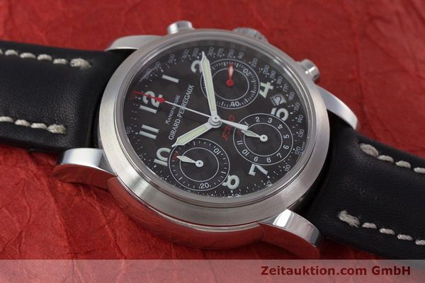 Used luxury watch Girard Perregaux Ferrari chronograph steel automatic Kal. 2280-831 Ref. 8020  | 160800 13