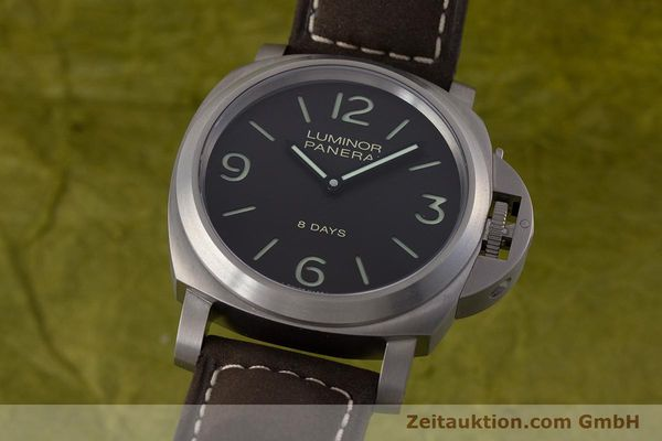 PANERAI LUMINOR TITANIUM MANUAL WINDING KAL. P5000 LP: 6200EUR [160802]